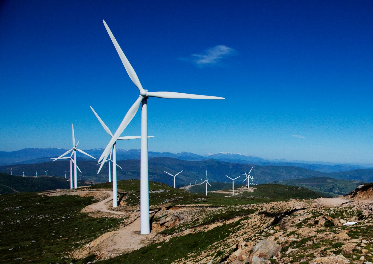 The La Penuca wind farm in Spain