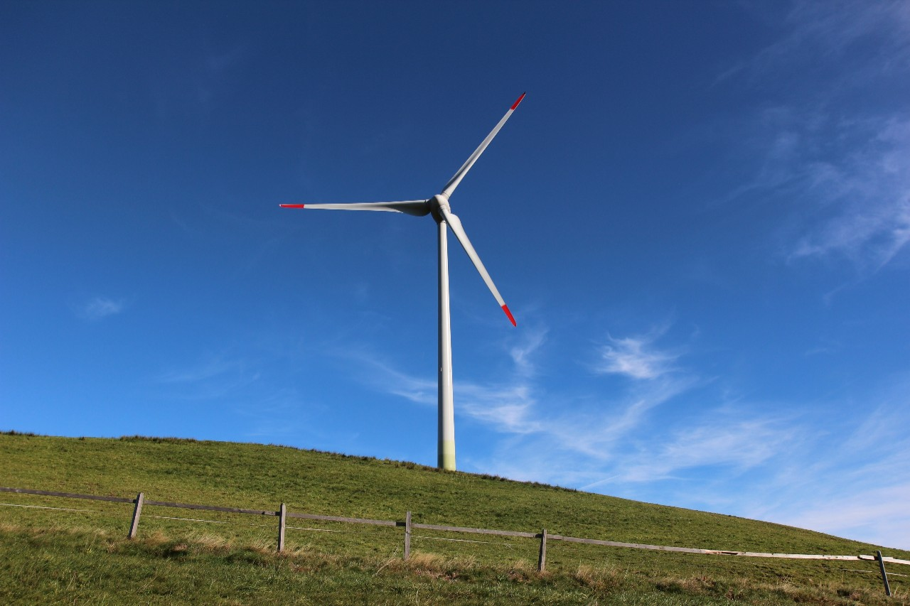 The CKW wind power plant in Entlebuch is the largest in Central Switzerland