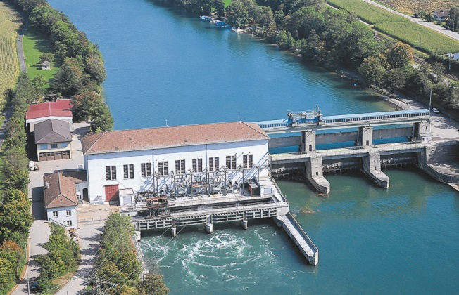 KW Reckingen: Axpo holds a 20 % stake of this hydro power plant. It was constructed from 1938 to 1941 and enlarged 1956. The annual production comes to 550 GWh